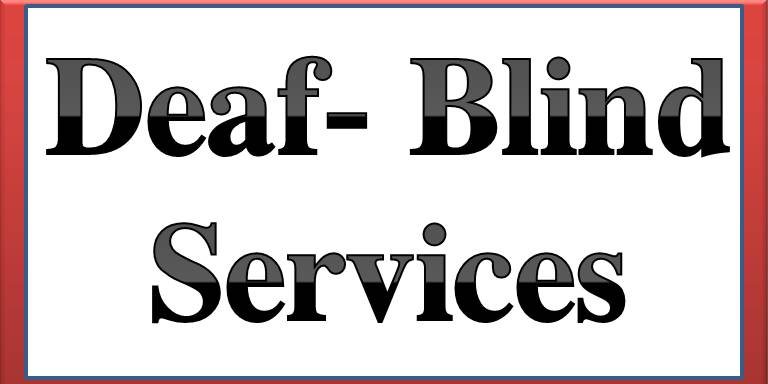 Deaf- Blind Services button